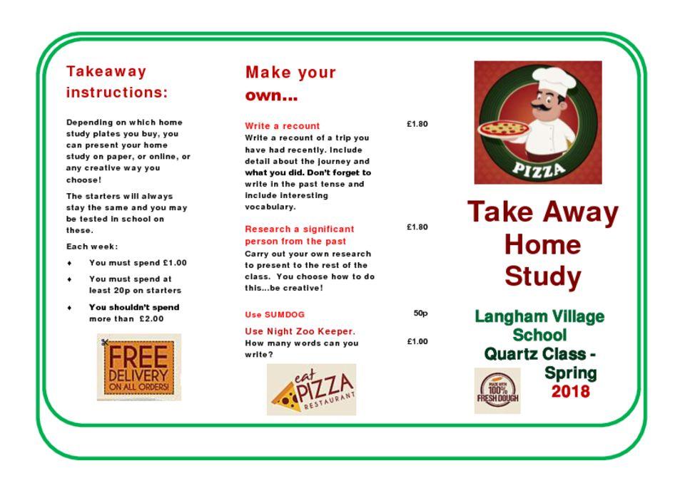 thumbnail of Pizza Quartz Class Home Study Spring 2018