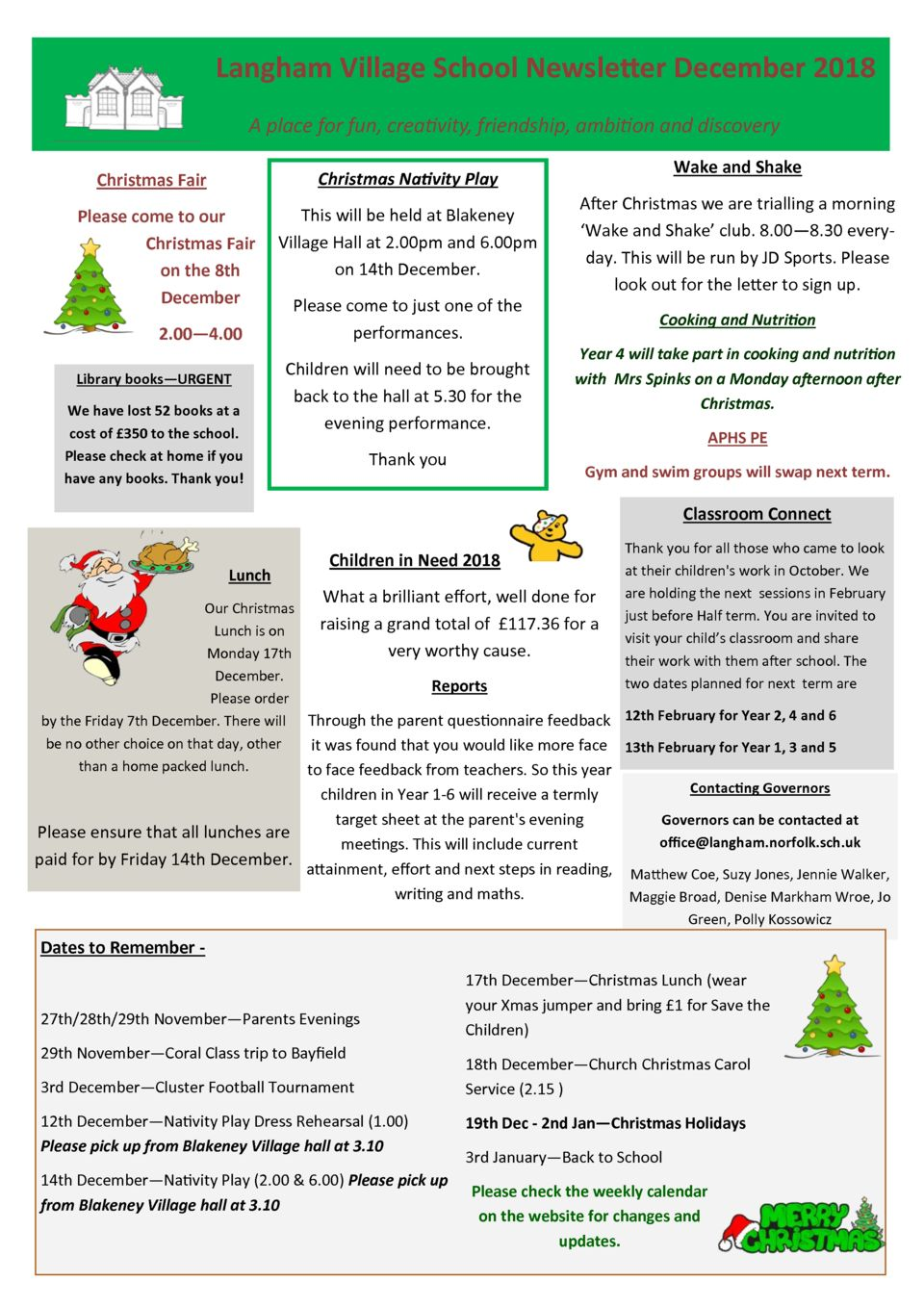 thumbnail of Newsletter December 2018