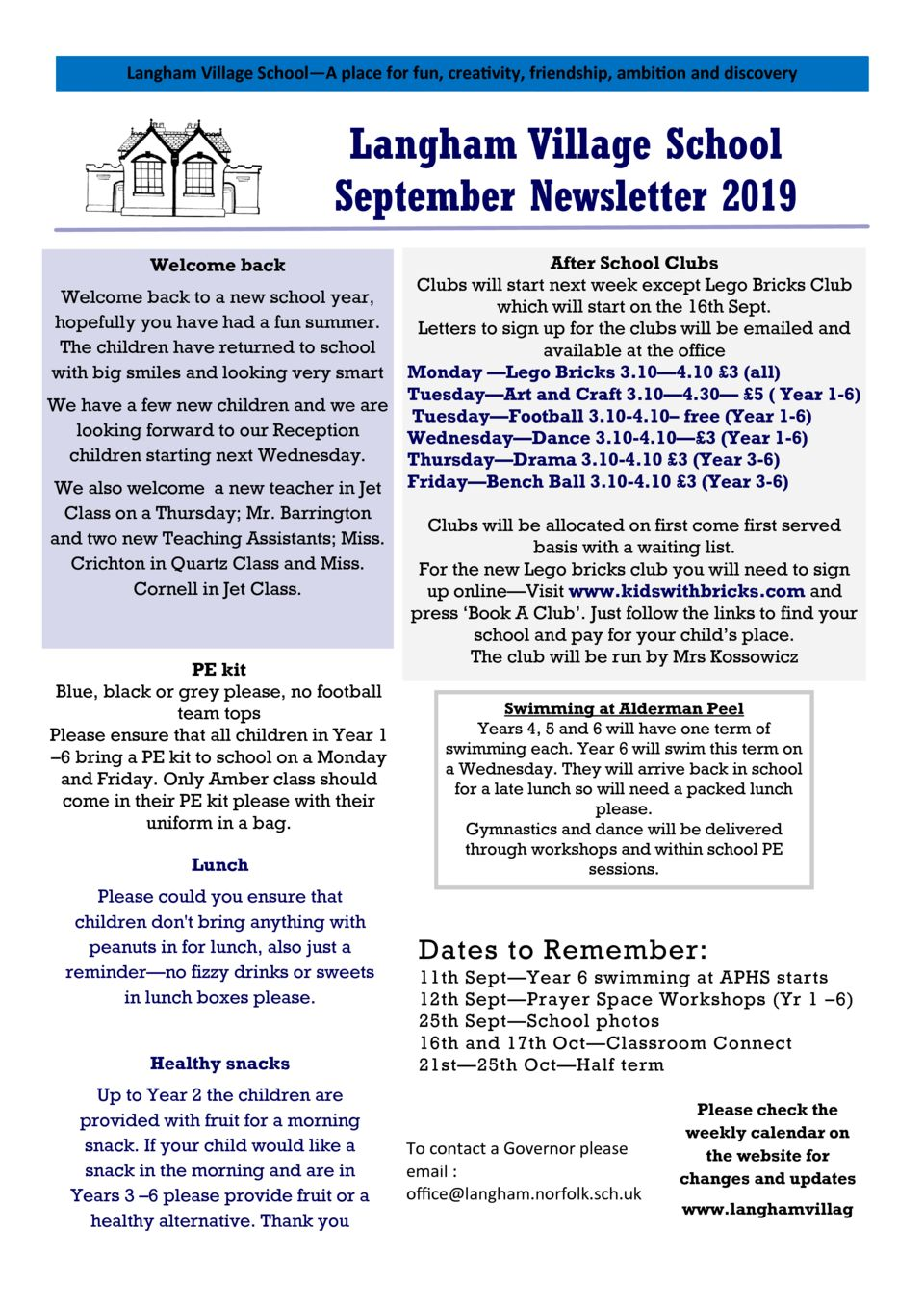thumbnail of Sept Newsletter 2019